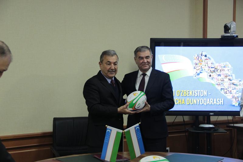 Подписан меморандум между Федерацией регби Узбекистана и Национальным университетом Узбекистана имени Мирзо Улугбека