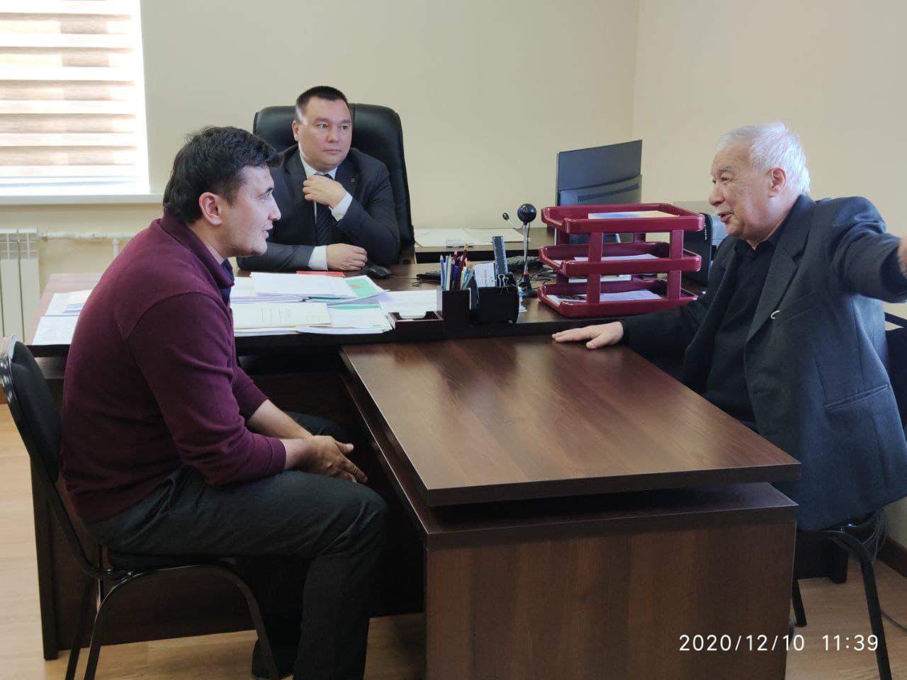 Прошла встреча представителей Федерации регби Узбекистана и Государственного университета физической культуры и спорта.