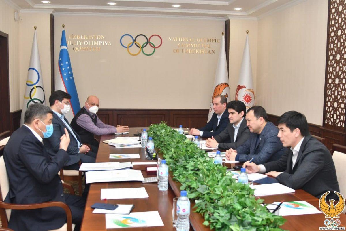 Руководство НОК обсудило планы на 2021 год.