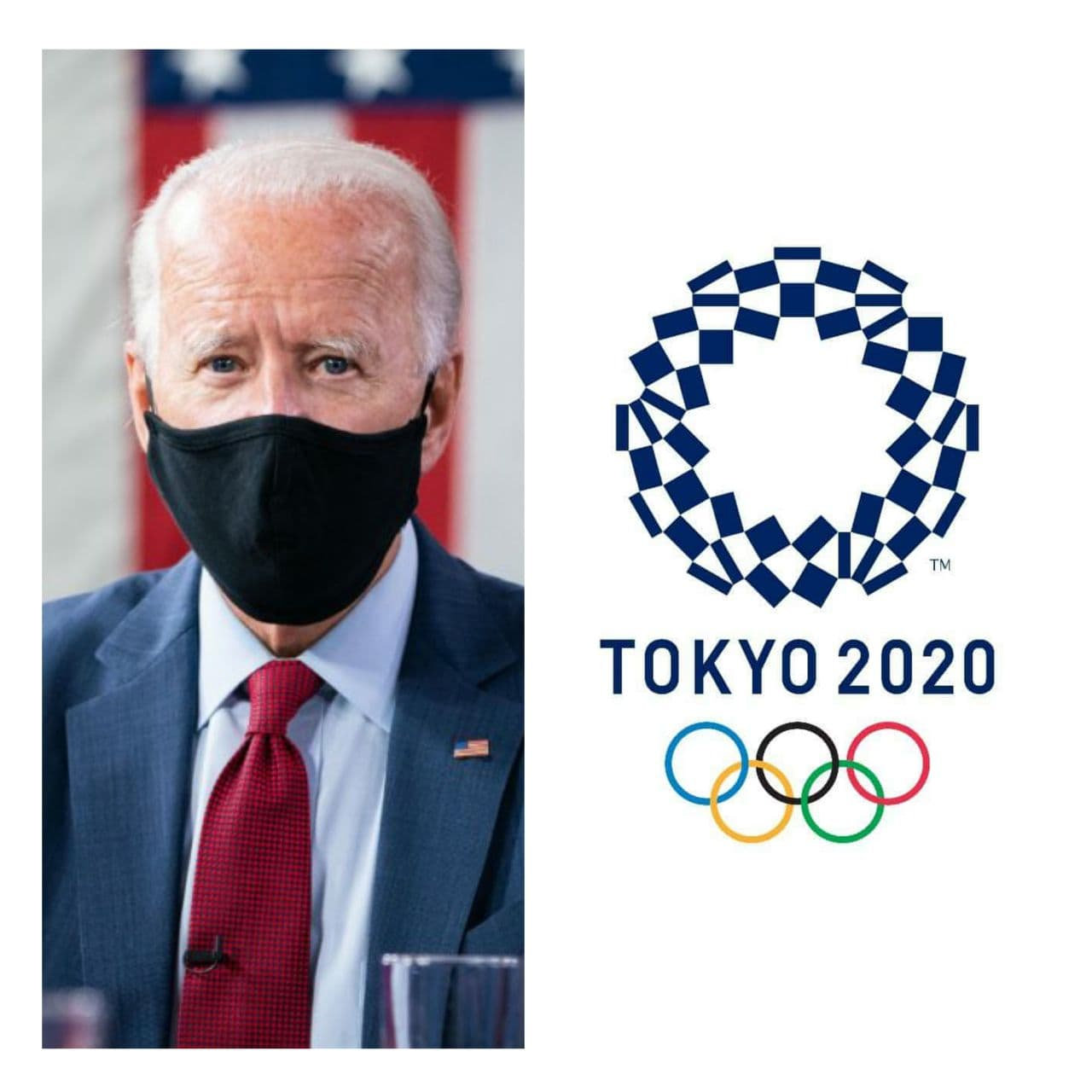 Japan believes that the future of the Tokyo Olympics will be decided by US President Joe Biden