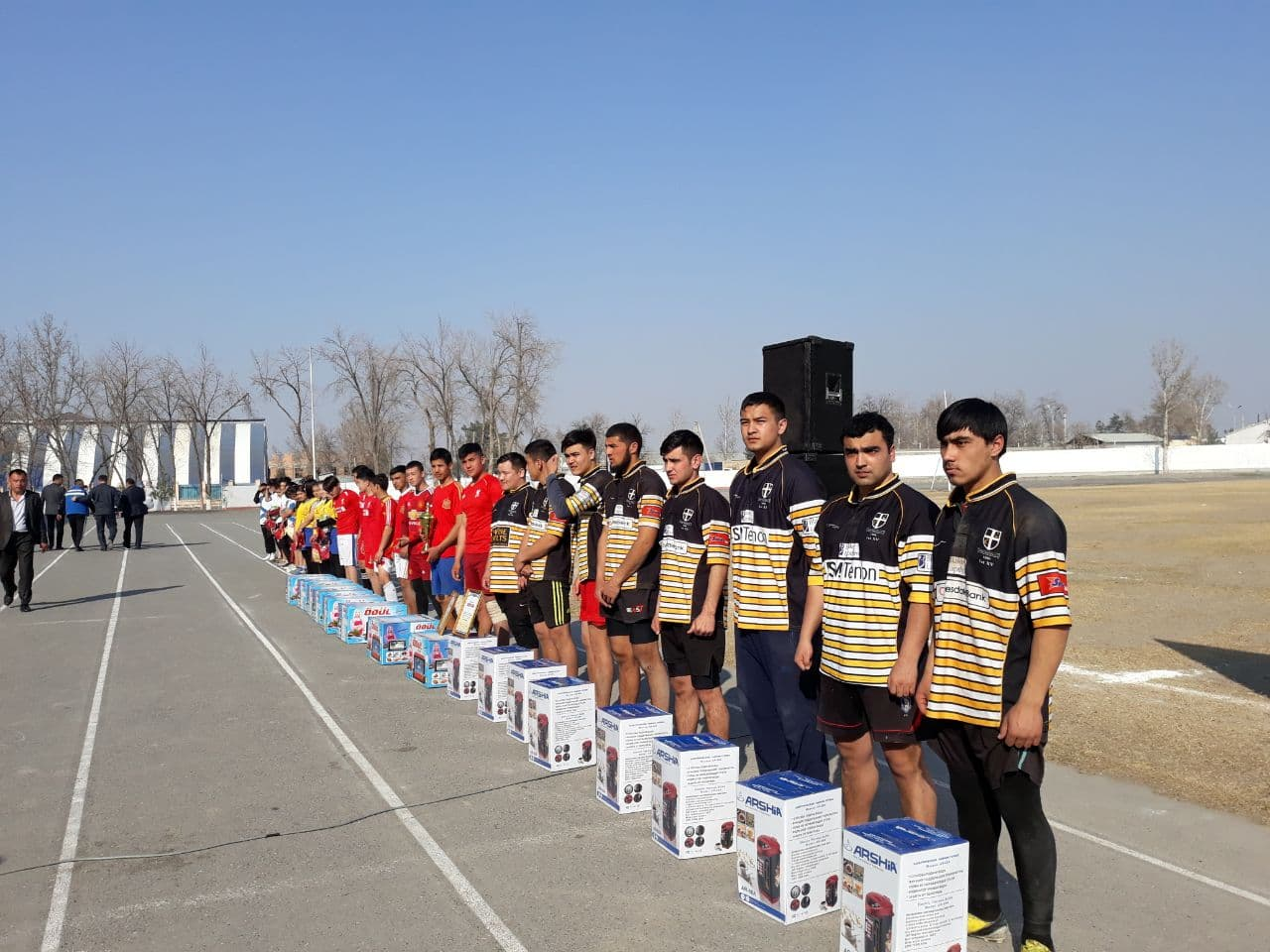 """Festival """"Get Into Rugby"""" (GIR) and Fergana Khokim Cup"""