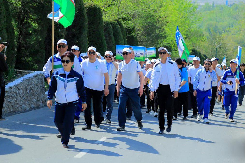 В Андижане прошёл спортивный праздник
