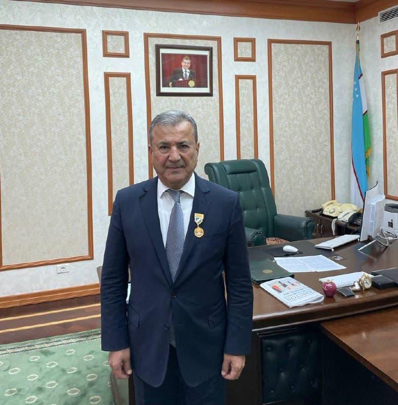 Поздравляем Садыка Салиховича с памятной медалью