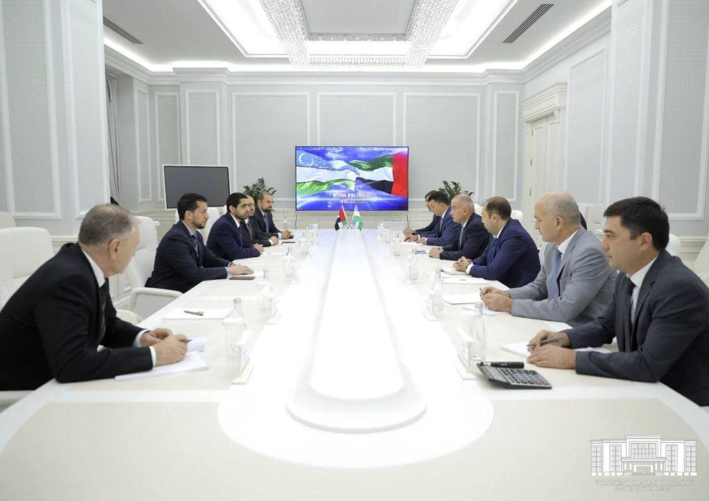 Встреча делегации из ОАЭ с Хокимом г.Ташкента