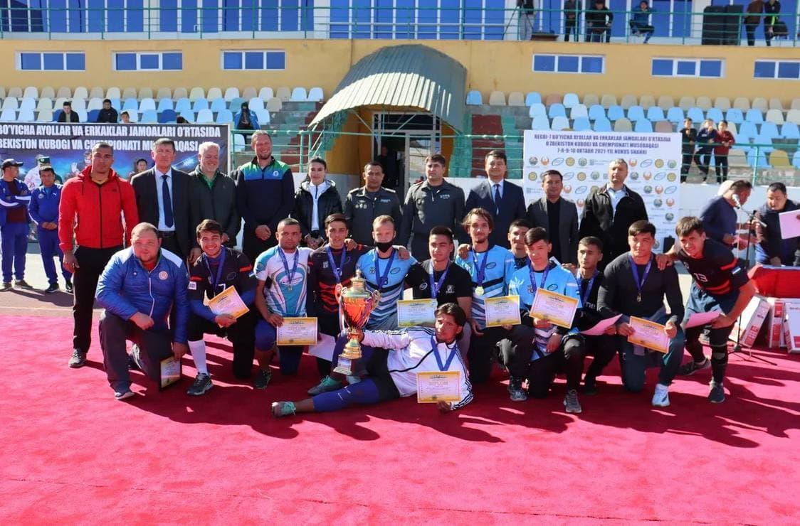 Завершился Чемпионат Узбекистана по регби-7